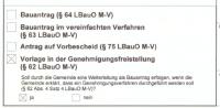 Bauantrag / Bauaufsichtsbehörde
