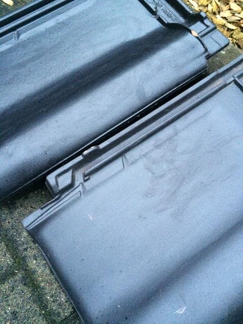 Bemusterung der Dachziegel