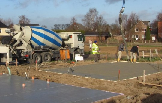 Beton - Bodenplatte