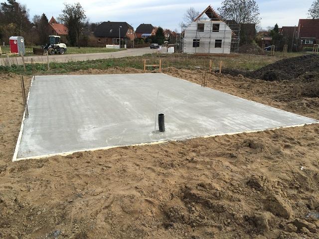Bodenplatte Garage - Prima Haus GmbH