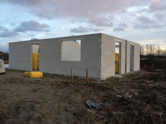 Rohbau am 23.12.2015 - Prima Haus GmbH