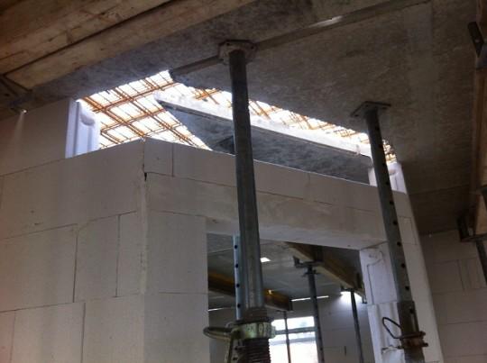 Deckenplatte - Flur / Esszimmer