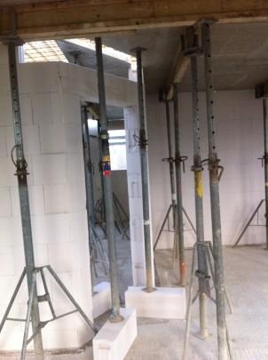 Deckenplatte - Wohn- / Esszimmer / Küche