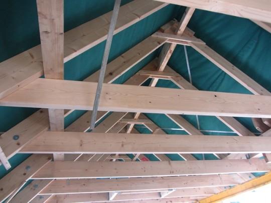 Dachgeschoss - Dachstuhl
