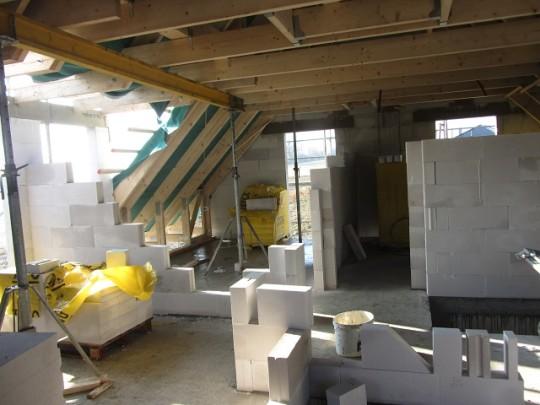 Dachgeschoss - Innenwände