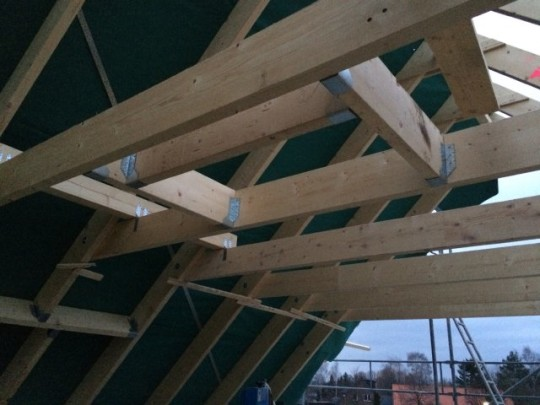 Dachkonstruktion - Kehlbalken