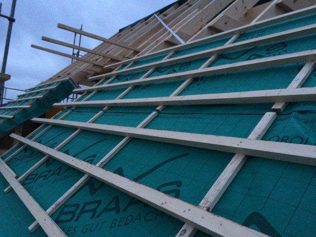 Arbeiten am Dachstuhl #2