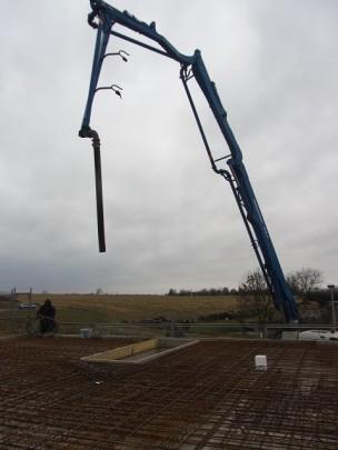 Deckenplatte - LKW Pumpe
