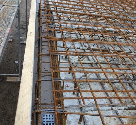 Deckenplatte - Schalung & Ringanker
