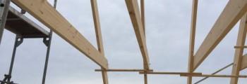 Arbeiten am Dachstuhl #1