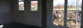 Fenster eingebaut