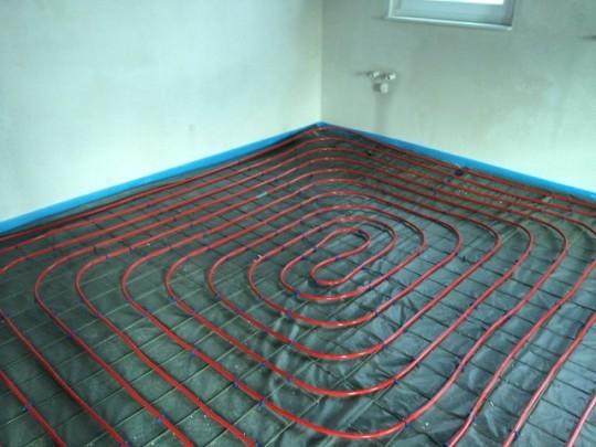 EG - Fußbodenheizung - Küche