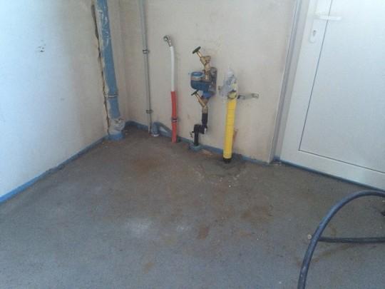 Hausanschluss - Gas und Wasser
