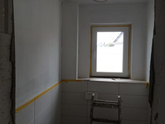 Maler - Grundierung WC