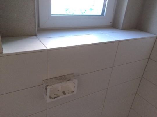WC im Erdgeschoss - Brüstung