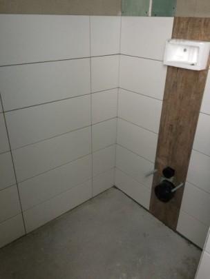 Wandfliesen im WC-Bereich im Bad