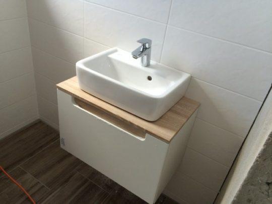 WC & Waschbecken mit Unterschrank - 03.06.2016